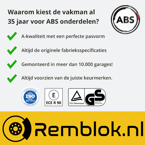 Waarom kiezen voor ABS kwaliteit