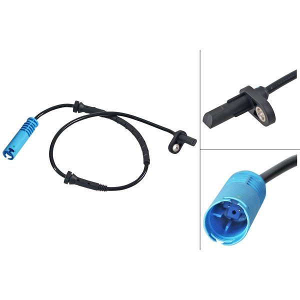 ABS-sensor voorzijde, links of rechts BMW X1 (E84) xDrive 28 i