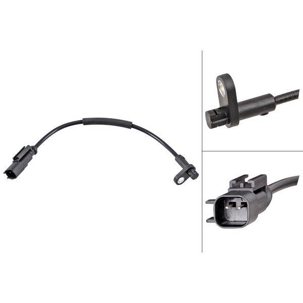 ABS-sensor voorzijde, links of rechts FORD TRANSIT V363 Open laadbak/ Chassis 2.0 EcoBlue 4x4