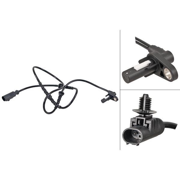 ABS-sensor voorzijde, links of rechts LAND ROVER DISCOVERY IV 2.7 TD 4x4
