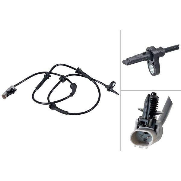 ABS-sensor voorzijde, links of rechts LAND ROVER DISCOVERY V 3.0 Td6 4x4