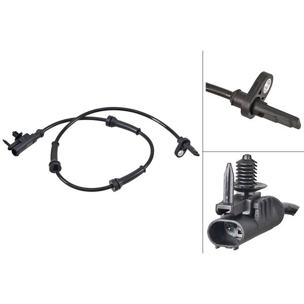 ABS-sensor voorzijde, links of rechts LAND ROVER RANGE ROVER SPORT 2.0 SD4 4x4