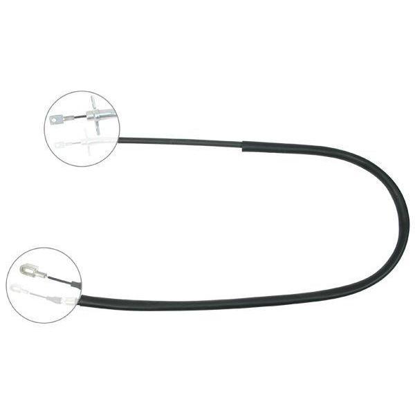 Trekkabel, parkeerrem links VW VOLKSWAGEN LT 28-46 II Open laadbak/ Chassis (2DC, 2DF, 2DG, 2DL, 2DM) 2.8 TDI