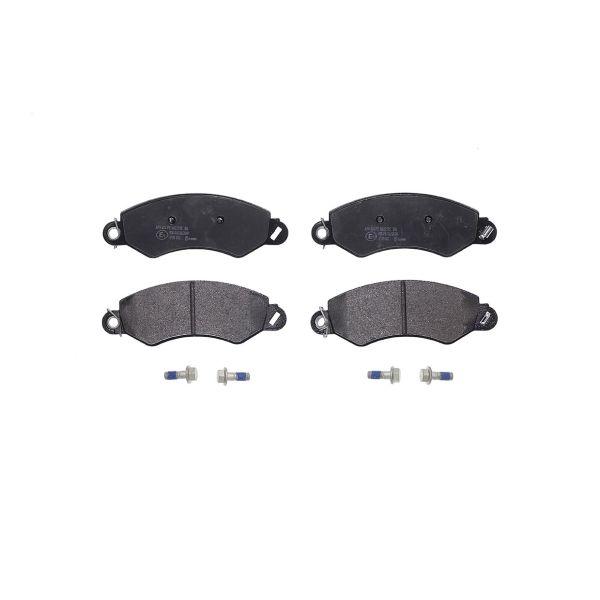 Remblokkenset voorzijde Brembo premium LDV MAXUS Open laadbak/ Chassis 2.5 D
