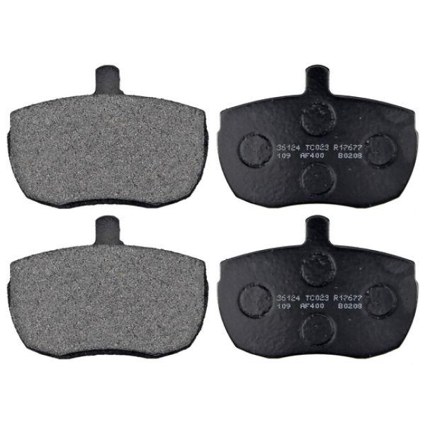 Remblokkenset voorzijde originele kwaliteit LDV PILOT Open laadbak/ Chassis 1.9 D