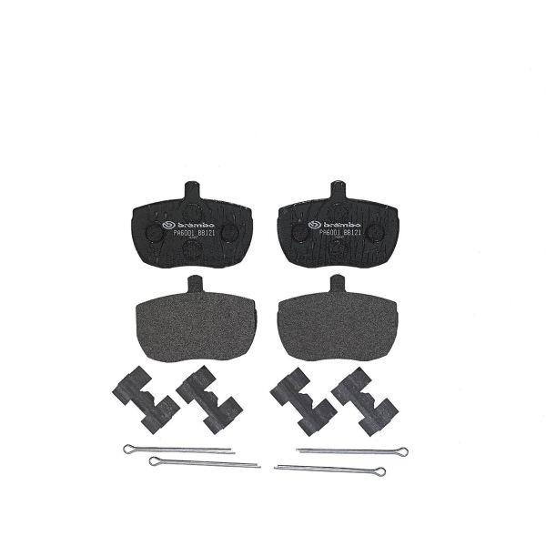 Remblokkenset voorzijde Brembo premium LDV PILOT Open laadbak/ Chassis 1.9 D