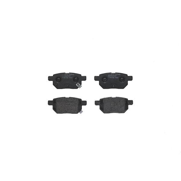Remblokkenset achterzijde Brembo premium LEXUS CT 200h
