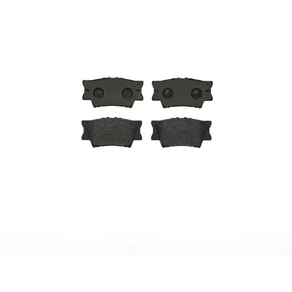 Remblokkenset achterzijde Brembo premium LEXUS ES 350 4WD