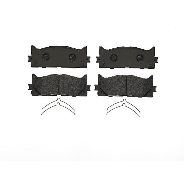 Remblokkenset voorzijde Brembo premium LEXUS ES 350 4WD