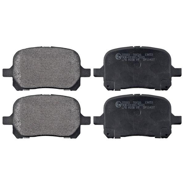 Remblokkenset voorzijde originele kwaliteit LEXUS ES 300