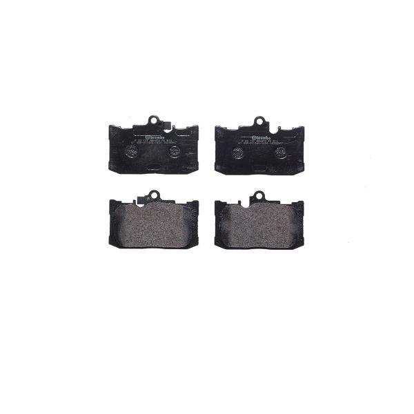 Remblokkenset voorzijde Brembo premium LEXUS GS 250