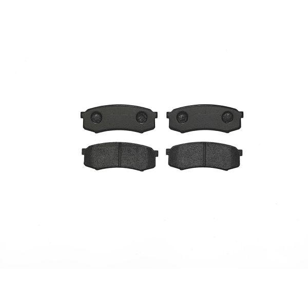 Remblokkenset achterzijde Brembo premium LEXUS GX 460 4WD