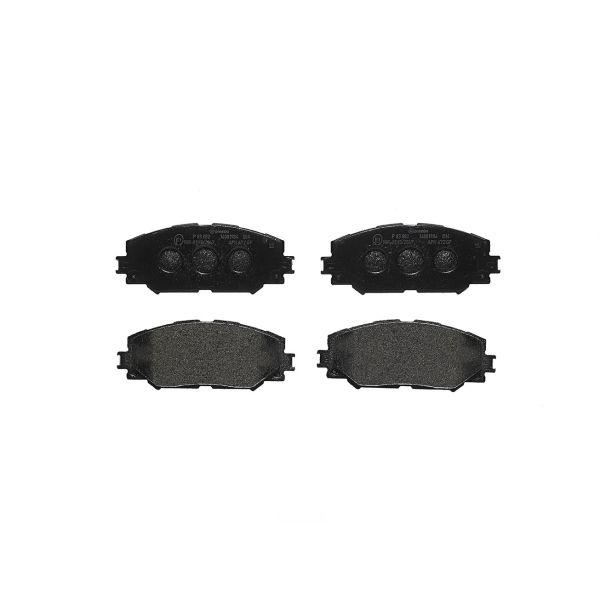 Remblokkenset voorzijde Brembo premium LEXUS HS 250h