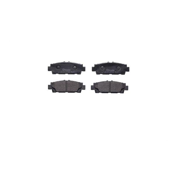 Remblokkenset achterzijde Brembo premium LEXUS LS 400