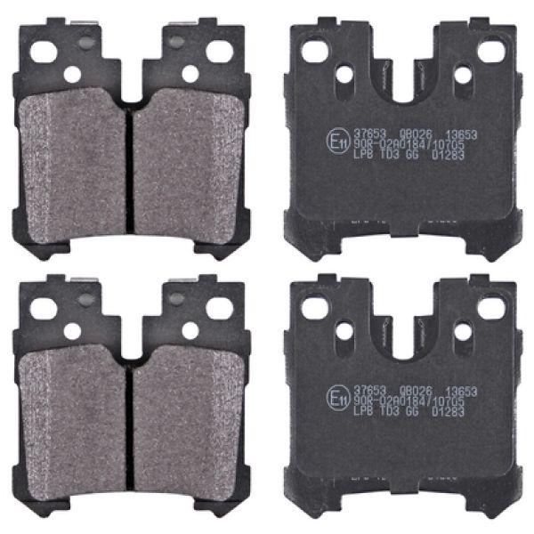 Remblokkenset achterzijde originele kwaliteit LEXUS LS 460 4WD