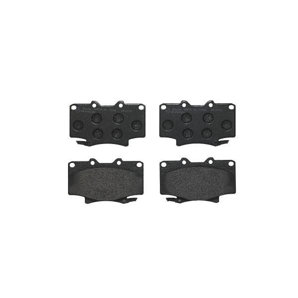 Remblokkenset voorzijde Brembo premium LEXUS LX 450 4WD