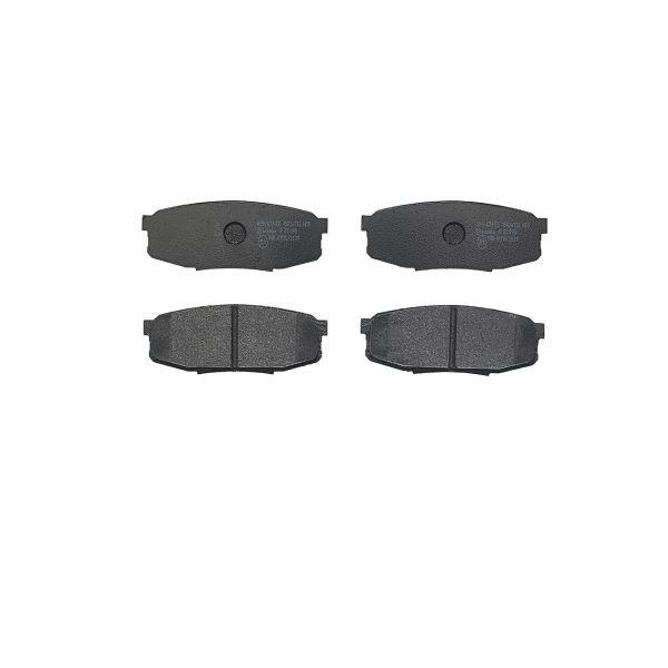 Remblokkenset achterzijde Brembo premium LEXUS LX 570