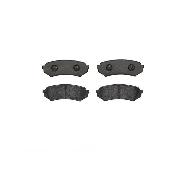Remblokkenset achterzijde Brembo premium LEXUS LX 470