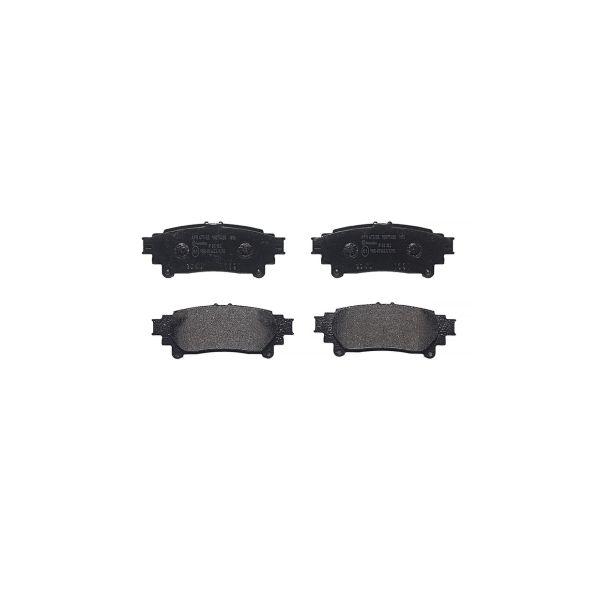 Remblokkenset achterzijde Brembo premium LEXUS RX 450h AWD