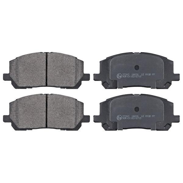 Remblokkenset voorzijde originele kwaliteit LEXUS RX 300 AWD