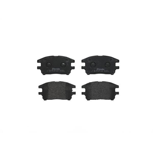 Remblokkenset voorzijde Brembo premium LEXUS RX 300 AWD