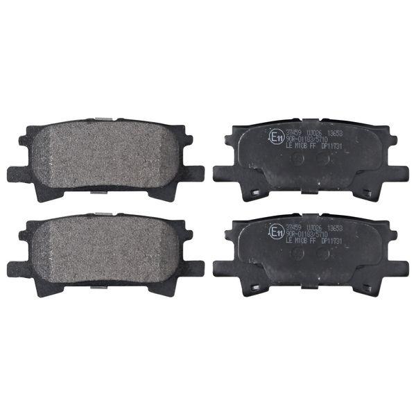 Remblokkenset achterzijde originele kwaliteit LEXUS RX 330 AWD