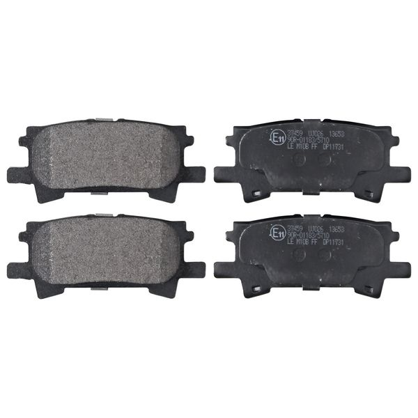 Remblokkenset achterzijde originele kwaliteit LEXUS RX 350