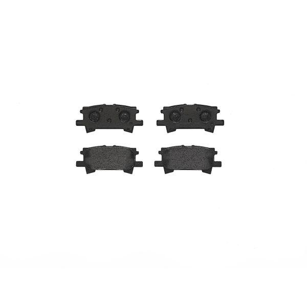 Remblokkenset achterzijde Brembo premium LEXUS RX 350