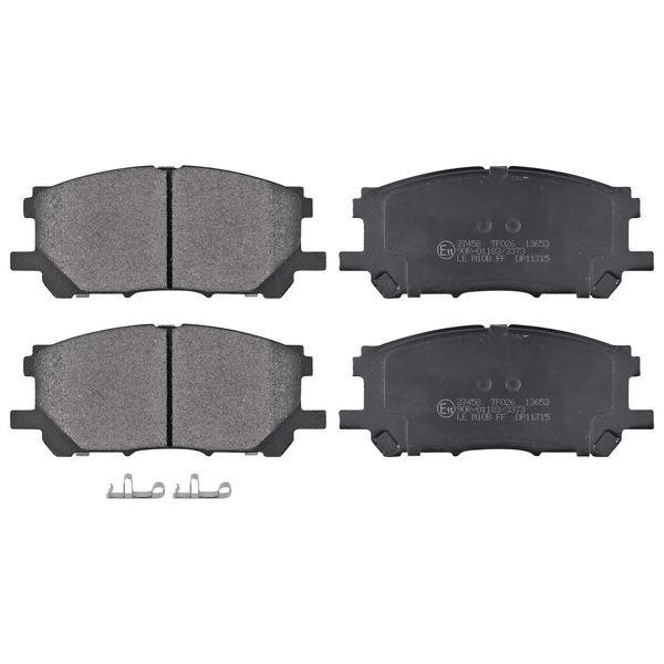 Remblokkenset voorzijde originele kwaliteit LEXUS RX 400h