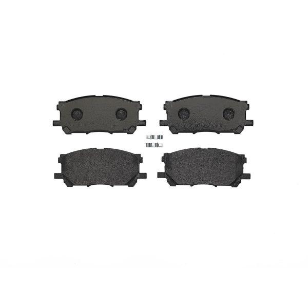 Remblokkenset voorzijde Brembo premium LEXUS RX 400h