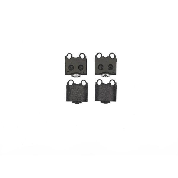 Remblokkenset achterzijde Brembo premium LEXUS SC Cabriolet 430