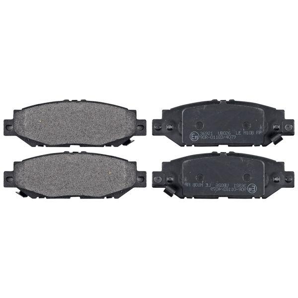 Remblokkenset achterzijde originele kwaliteit LEXUS SC Coupé 400