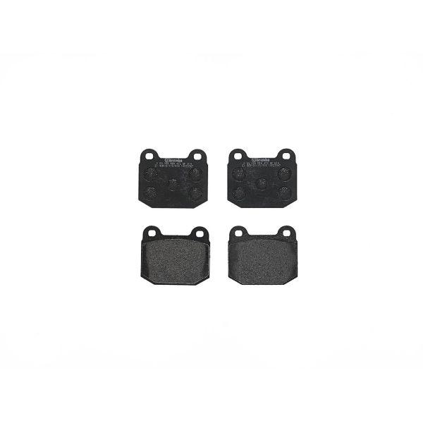 Remblokkenset voorzijde Brembo premium LOTUS ESPRIT S3 2.2