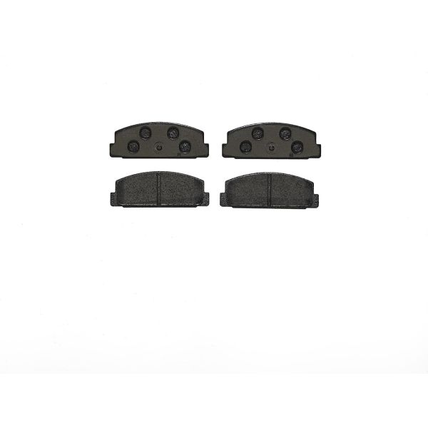Remblokkenset achterzijde Brembo premium MAZDA 6 Hatchback 2.2 MZR-CD