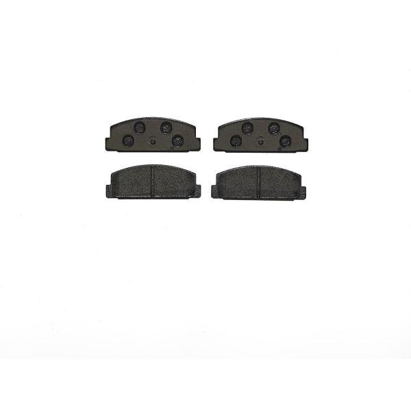 Remblokkenset achterzijde Brembo premium MAZDA 6 Sedan 2.2 D