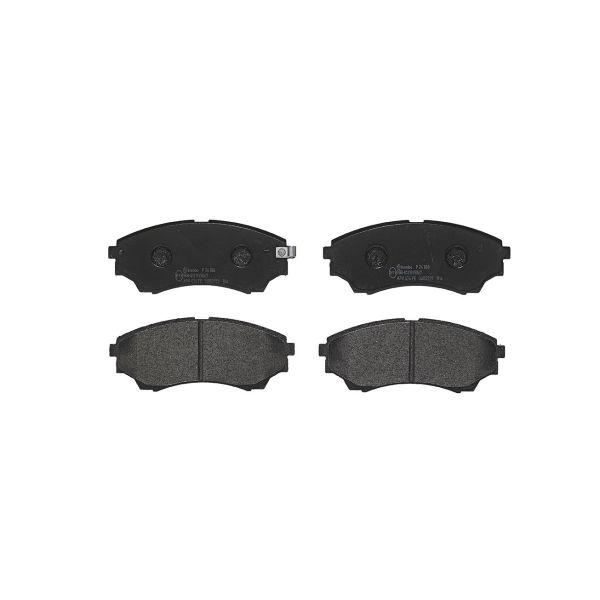 Remblokkenset voorzijde Brembo premium MAZDA B-SERIE Open laadbak/ Chassis 4.0