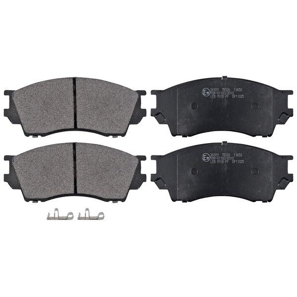 Remblokkenset voorzijde originele kwaliteit MAZDA B-SERIE 2.5 D 4WD