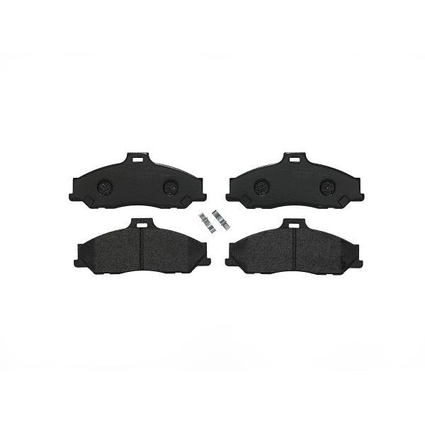 Remblokkenset voorzijde Brembo premium MAZDA B-SERIE 2.5 TD 4WD
