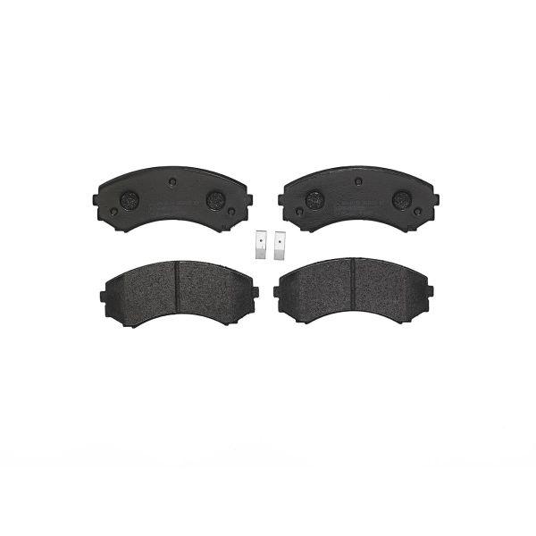 Remblokkenset voorzijde Brembo premium MAZDA BONGO TRUCK Open laadbak/ Chassis 1.8