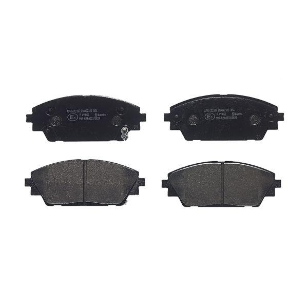 Remblokkenset voorzijde Brembo premium MAZDA CX-30 2.0 SKYACTIV-G AWD