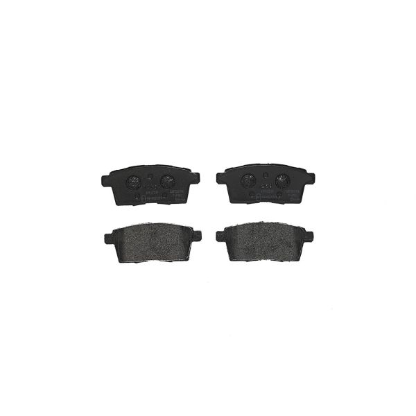 Remblokkenset achterzijde Brembo premium MAZDA CX-7 2.3 AWD
