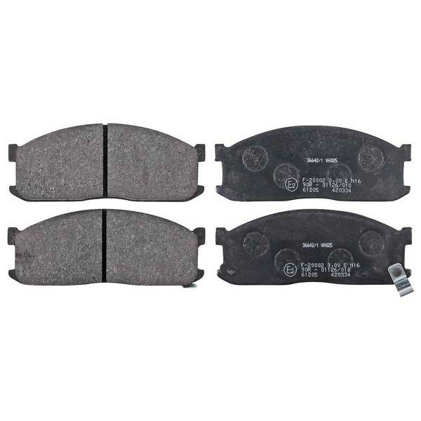 Remblokkenset voorzijde originele kwaliteit MAZDA E Open laadbak/ Chassis E2000
