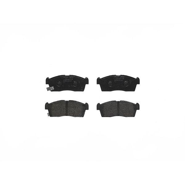 Remblokkenset voorzijde Brembo premium MAZDA FLAIR CROSSOVER 0.7 4WD