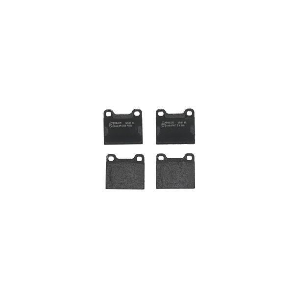 Remblokkenset achterzijde Brembo premium MERCEDES-BENZ 123 Coupé (C123) 230 CE