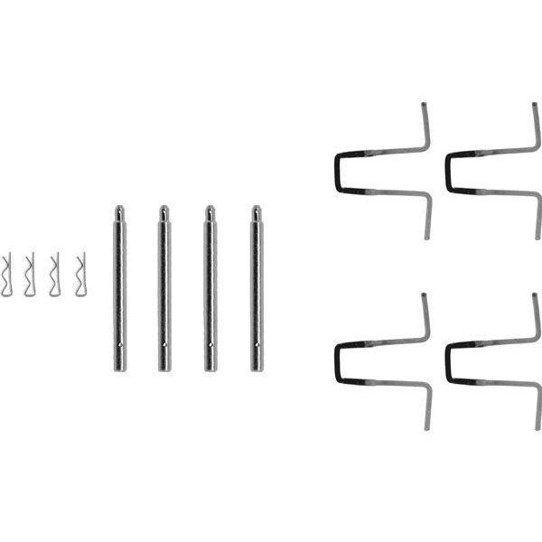 Remblok-montageset voorzijde MERCEDES-BENZ 123 Coupé (C123) 280 C