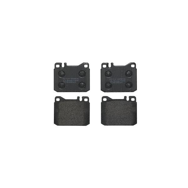 Remblokkenset voorzijde Brembo premium MERCEDES-BENZ 123 Coupé (C123) 280 CE