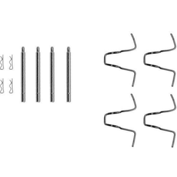Remblok-montageset voorzijde MERCEDES-BENZ 123 T-Model (S123) 200 T