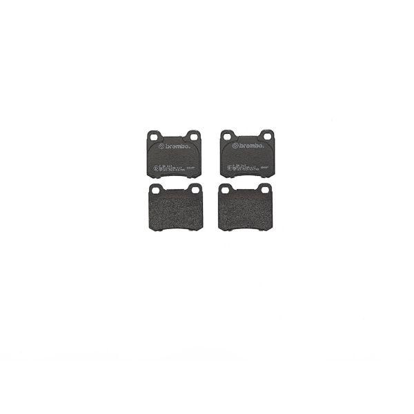 Remblokkenset achterzijde Brembo premium MERCEDES-BENZ 124 Coupé (C124) 220 CE