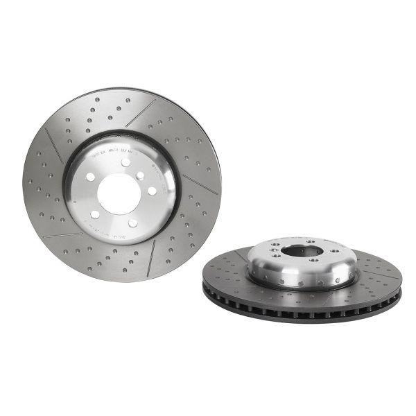 Remschijven voorzijde Brembo premium BMW 4 Coupé (F32, F82) 418 d
