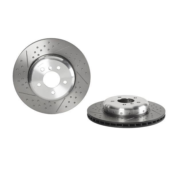Remschijven achterzijde Brembo premium BMW 4 Coupé (F32, F82) 418 d